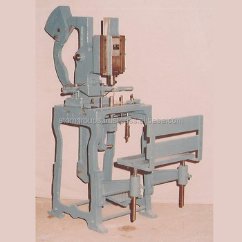Foot Operated Detergent Soap Stamping Machine