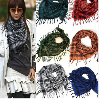 AA Customized Military Shemagh Arab Tactical Desert Shemagh Keff New FashionIyeh Scarf Wrap 100 % Cotton