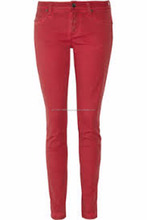 Red Color Leather Pant For Women