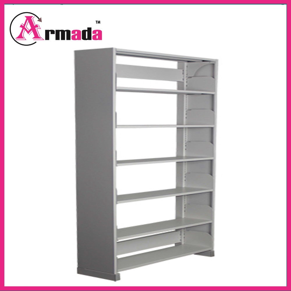 Library Double Sided Book Display Rack