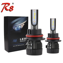 Adjustable beam R8 automotive <strong>lights</strong> H4 H13 9004 9007 Car head lamp