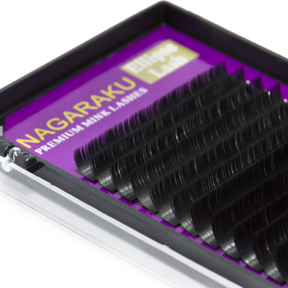 Synthetic <strong>Flat</strong> Eyelash Extension Mixed Length Eyelashes faux premium mink lashes