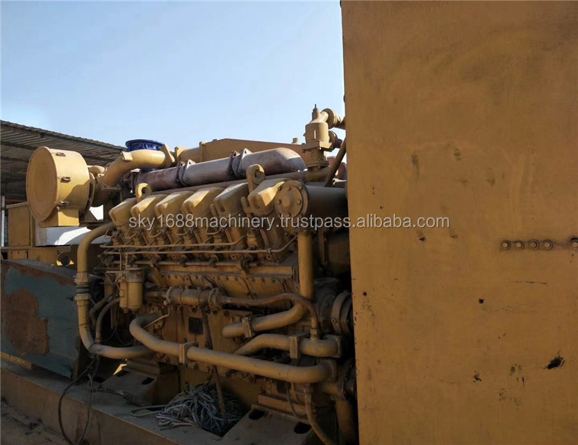 Used caterpillar portable generators type with silent engine used equipment for sale