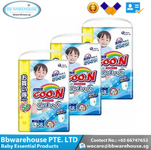 Enjoy the breath Natural comfortable flaxible brethble GOO.N Boy Pants L58 Boy baby diaper x 3 packs