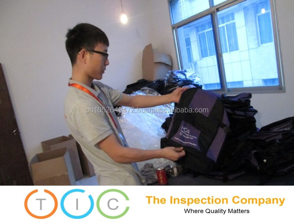 Online Inspection Service in Kambotscha for Bags
