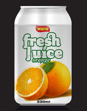 Natural Fruit Juice Brands Orange Juice Drink In Can 330ml