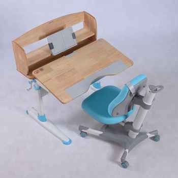 Ergonomic Adjustable Children Study Table Chair Set