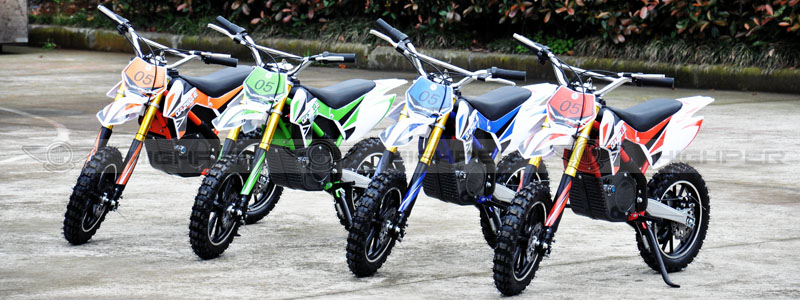 500W 24V or 36V Electric Mini Dirt Bike For Kids