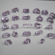 Direct Wholesale AAA Quality Natural Kunzite stone cut tone Mixed shape polished cut stone Clear crystals Gemstone Manufacture L