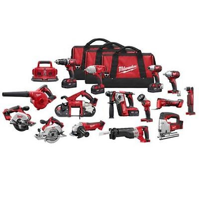 Discount for MILWAUKEE 2695-15 M18 18 VOLT DELUXE 15PC TOOL CORDLESS TOOL COMBO SET