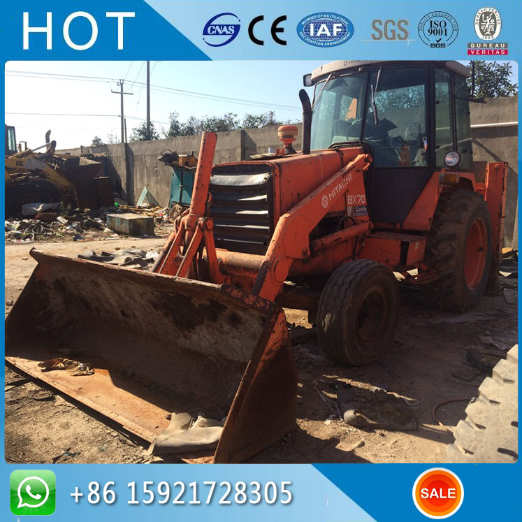 Backhoe Excavator Japan BX70 Used Hitachi Backhoe Loader For Sale