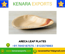 Disposable Areca palm leaf Heart Shaped Plates Biodegradable Tableware Eco Friendly Party plates