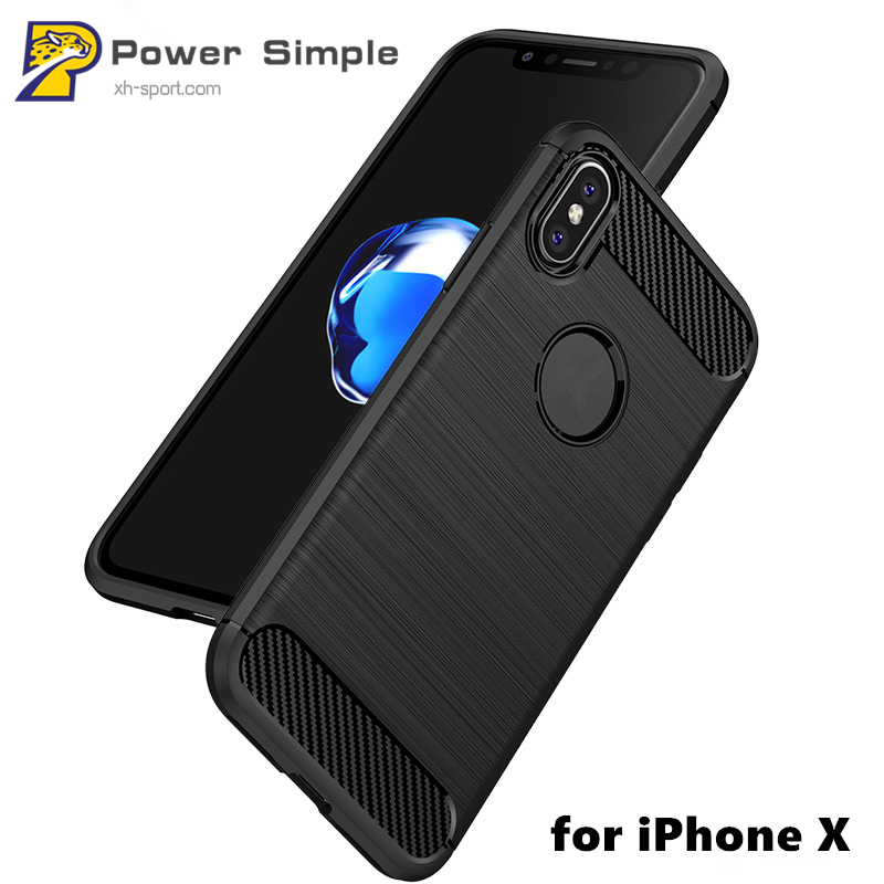 Mobile Shell Slim Tpu Smart Phone Cover Protective Cases for iPhone X