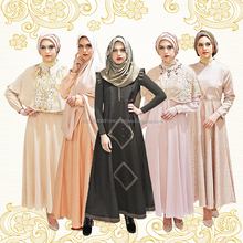 High Quality Fashion Gamis Women Clothing Yellow Gold