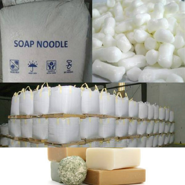 soap noodles 9010 74% TFM snow white