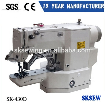 430D Direct-drive electronic Bartacking shoe jean Sewing Machine for clothings