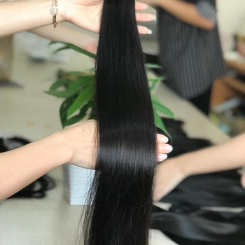 Big discount 100 virgin human hair, quality 8a 9a 10a grade Cambodian Straight hair extension Vietnamese cuticle aligned hair