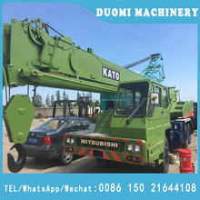 used Kato 25t truck crane, Kato NK250E , manufactured in Japan