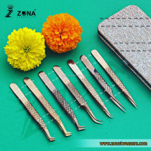 Eyelash Extension Tweezers Diamond Grip / Super Fine Tip & Sharped Point Lash Extension Tweezers From Zona Pakistan