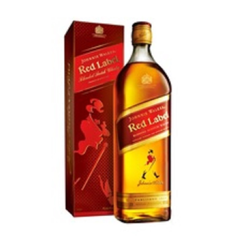 Johnnie Walker Red Label Scotch Whisky 1L