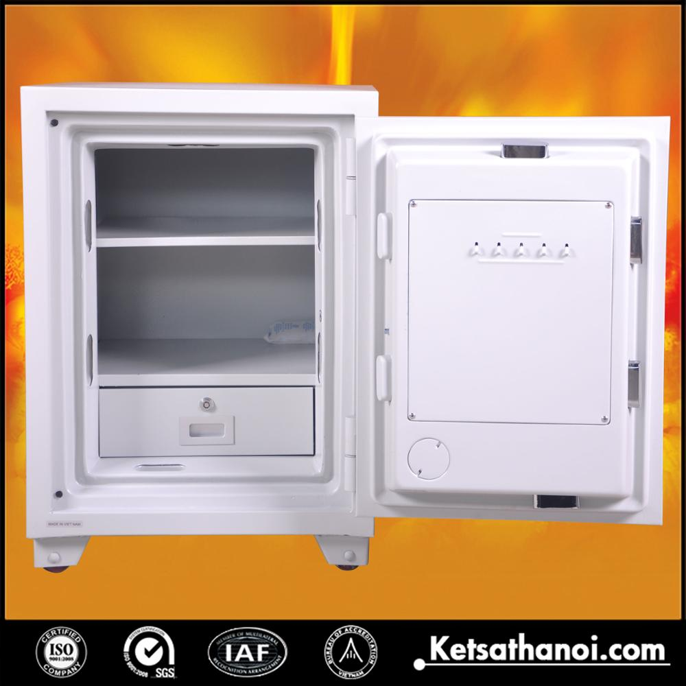 Digital 2 key money jewelry safes for home - KS140 2K White