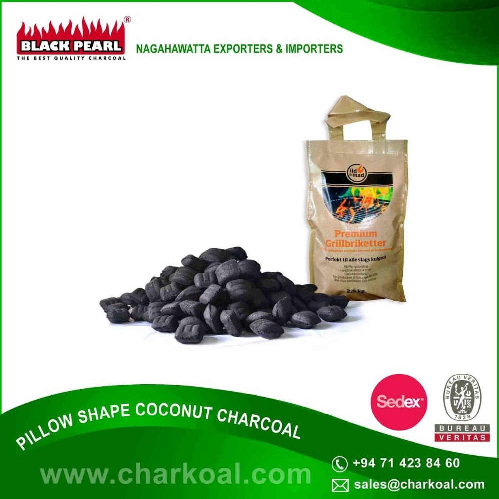 Bulk Supplier of BBQ Charcoal/ Palm Shell Charcoal/ Coconut Shell Charcoal