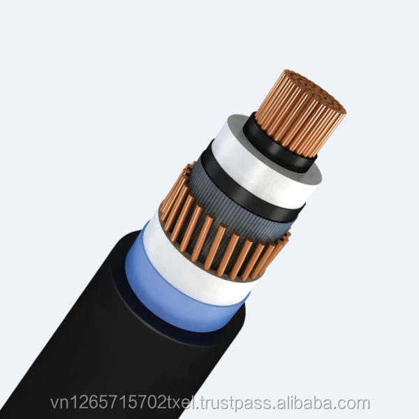 Thipha Cable - Underground High Voltage Cable 38/66 (72.5) kV, Copper Wire Screen