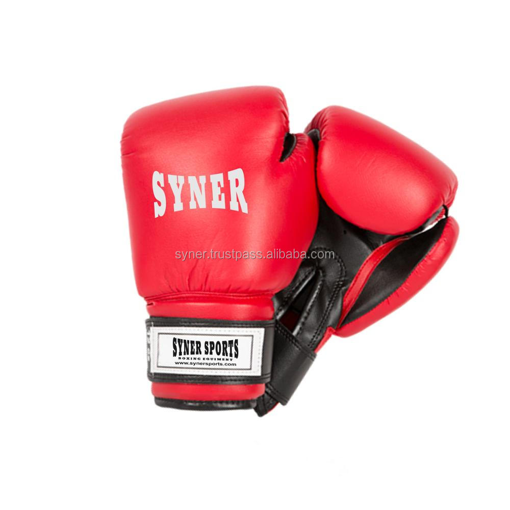 Boxing Glove Red w/Black Palm - 12 oz. SKU: 83032