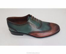 Leather Sole Leather Upper All Side Handmade Shoes