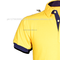 Logo Polo T Shirt Yellow Polyester Fitness Polyester T Shirt Short Sleeve Polo Shirt Wholesale