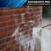 Antigraffiti Coating with Outstanding Durability. Cleaning with Pressure Cleaner Only!