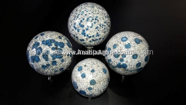 Natural Green Fluorite Gemstone Ball/sphere : Wholesale Agate Ball