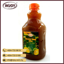 Saga - Honey Lime Juice Drink in Bottle from Malaysia