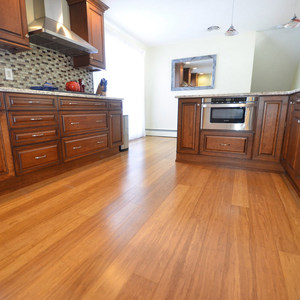 Cali Bamboo Fossilized 3.75-in Mocha Bamboo Solid Hardwood Flooring