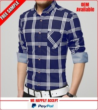 Check design office wear shirts wholesale