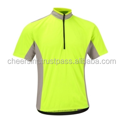 Custom made logo cycling jersey bike shirts bicycle clothing pro team wholesale