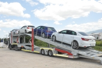 Kalepar Semi Trailer Car Carrier Transporter