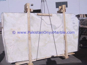 Best Quality Cheap Price AFGHAN WHITE ONYX SLABS COLLECTION