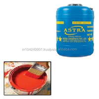 Water base acrylic emulsion paints for the interior decoration