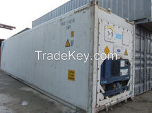 40' Length (feet) and Reefer Container Type used refrigerated containers for sale