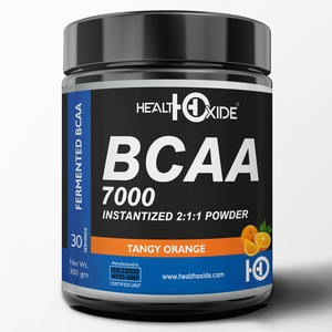 Wholesale Supplier of Tangy Orange Flavored Instantized BCAA 7000 2:1:1 Powder