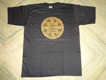 tibetan prints hindu gods rubber printed t-shirts wholesale prices