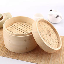 Light weight Mini steamer bamboo basket cooking dim sum wholesale