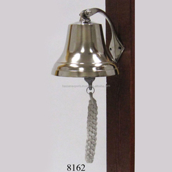 New Nautical ship bell wall mounted
