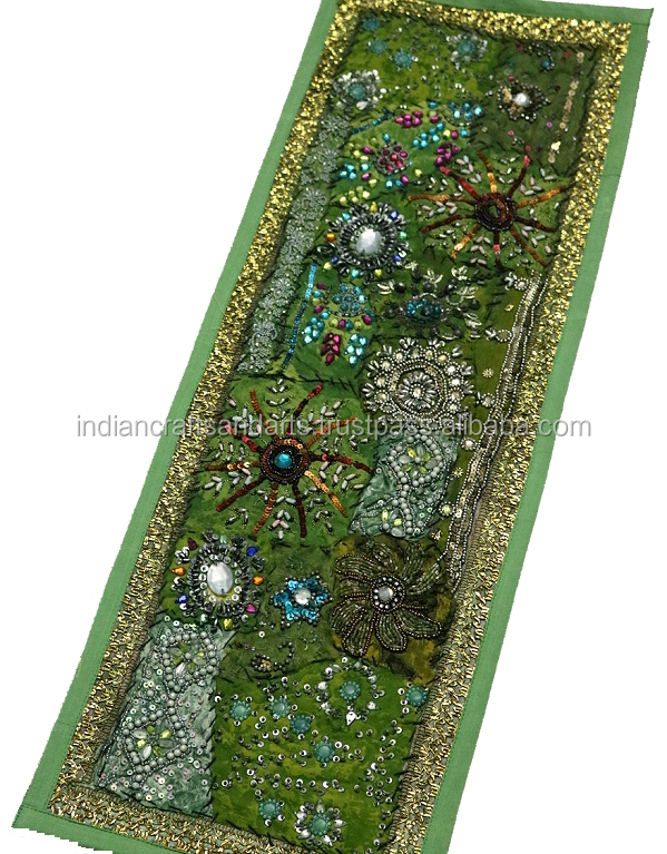 Traditional Cotton Tapestry Embroidered Patchwork tapestry Indian Wall Hangings patchwork Tapestry