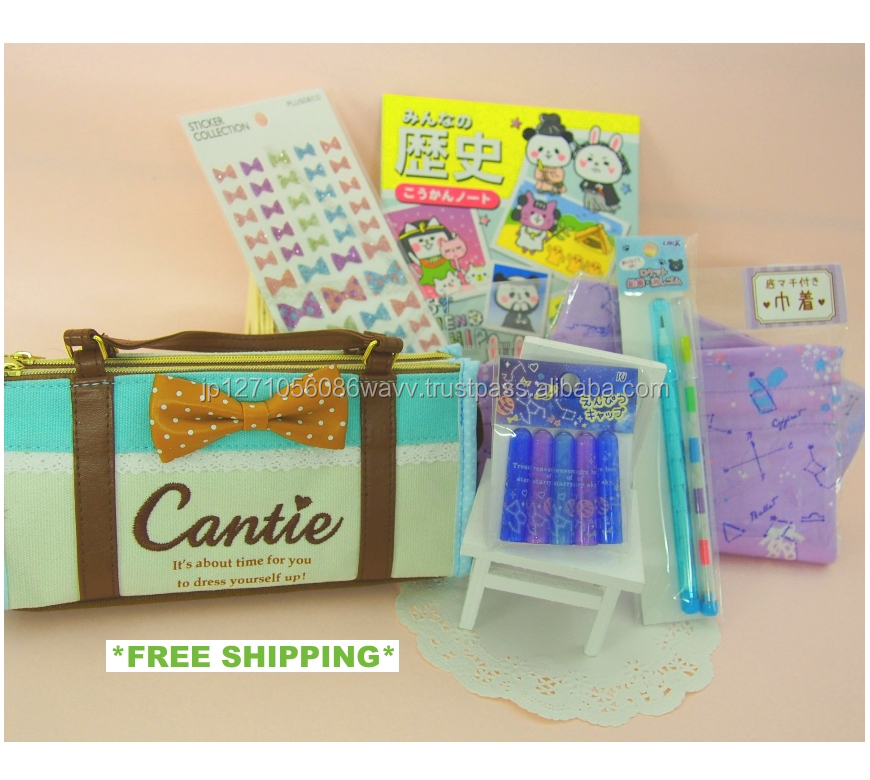Assorted Stationery Set Great Quantity with 6 Items Included ! Great as a present or for samples
