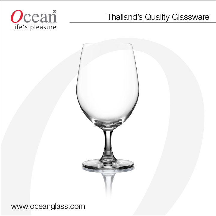 Serve Water Goblet - Crystal Glass, high quality glassware, stemware