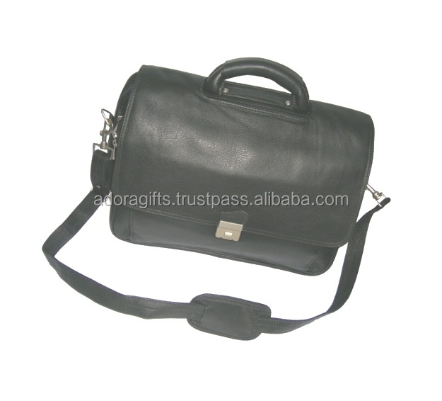 new arrival genuine leather laptop bags factory / fashion laptop bag for sale