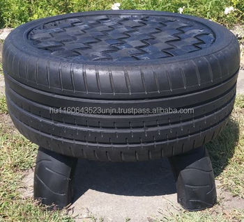 Car tyre table