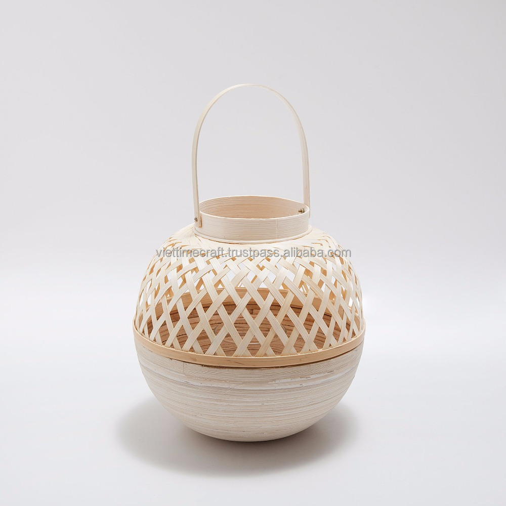Traditional hand woven bamboo lantern wholesale